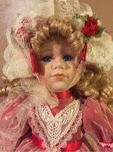 Christmas porcelain doll in Bolingbrook, Illinois