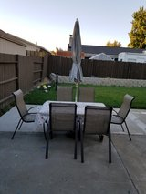 outdoor table/chairs set in Fairfield, California