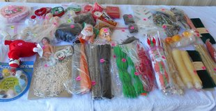 Xmas, Doll Heads,Misc. Arts & Crafts -, BOX 78 in Alamogordo, New Mexico