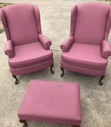 2 chairs and ottoman in Vacaville, California