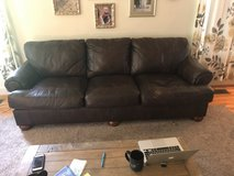Leather Sofa in Cherry Point, North Carolina