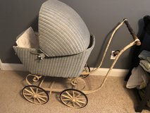 Antique Vintage Wicker Baby Carriage,  baby buggy/carriage from the 1900's in Warner Robins, Georgia
