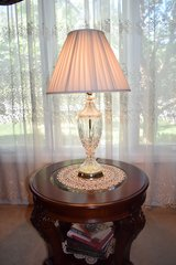 Crystal Table Lamp in Naperville, Illinois