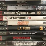 PS3 GAMES LOT - 9 Great Games (Used) in Camp Pendleton, California