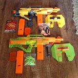 Nerf N Strike Stampede ECS Sonic Series Guns Darts lot of 2 in Hopkinsville, Kentucky