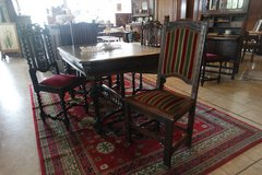 antique dining room set with 4 chairs in Stuttgart, GE