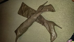 Thigh High Opentoe Boots in Beaufort, South Carolina