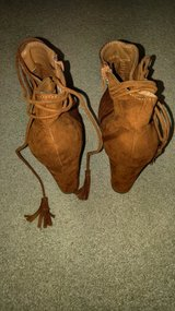 Suede Ankle Booties in Beaufort, South Carolina