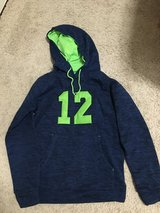 Seahawks '12' Hoodie! New with tags! Juniors size small $15 in Fort Lewis, Washington