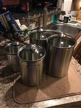 4 piece canister set in Conroe, Texas