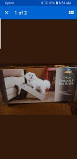 Pet Store Plastic Portable Pet Steps Recommended for Pets up to 75lbs in Westmont, Illinois