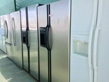 Side by Side Refrigerator Units in Camp Pendleton, California