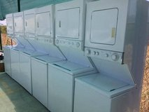 Stackable washer and dryer in Camp Pendleton, California