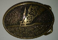 Official Red Adair Belt Buckle REDUCED PRICE in Kingwood, Texas