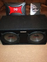 """2 12"""" Speakers and 2 Amps in Fort Drum, New York"""