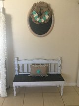 Bench rustic in Yucca Valley, California