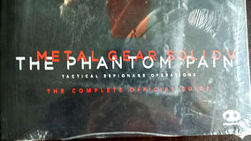 New Metal Gear Solid V The Phantom Pain Complete Official Guide 2 in Ramstein, Germany