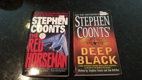 Stephen Coonts The Red Horseman Deep Black in Chicago, Illinois
