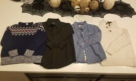 Boys Shirts & Sweaters - Great Condition! in Vacaville, California