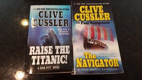 2 Clive Cussler Novels in Chicago, Illinois