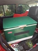 vtg Coleman metal cooler ice chest in Fairfield, California