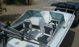 nice boat with 125 hp outboard in Alamogordo, New Mexico
