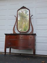 Charming Antique Princess Dresser / Buffet in Oswego, Illinois