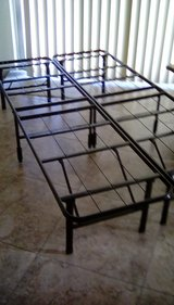 TWIN BED STEEL FRAME in 29 Palms, California
