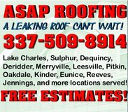 WE ROOF HOUSES! in Lake Charles, Louisiana