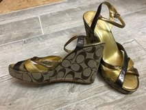 Authentic COACH wedges. women's 9 in Fort Leonard Wood, Missouri