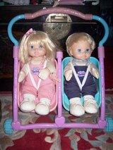 Antique Boy and Girl Dolls in Stroller in Alamogordo, New Mexico