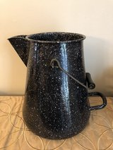 Graniteware Vollrath USN Large Coffee Pot with Lid in Oswego, Illinois
