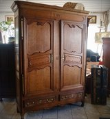 gorgeous 200 year old French armoire from the Lorraine region in Spangdahlem, Germany
