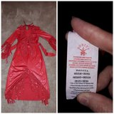 Childrens Halloween red dress costume in Vacaville, California