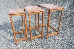 set of 3 antique nesting tables in Spangdahlem, Germany