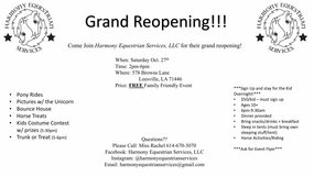 Horseback Riding Grand Reopening Event in Fort Polk, Louisiana
