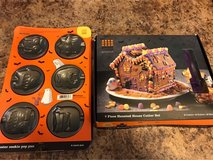 Monster Cookie Pan & Haunted House Cookie Kit in Yorkville, Illinois