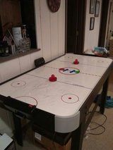 Air hockey table in St. Charles, Illinois