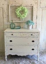 Antique Chest with mirror in Kingwood, Texas