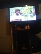 Like new LG 42' flat screen w/ stable built stand in DeRidder, Louisiana