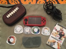 Sony PSP Bundle Red LOWER PRICE in Lockport, Illinois