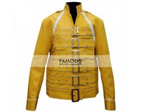 Freddie Mercury Yellow Concert Replica Jacket in Pearland, Texas