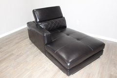 LAF Chaise in Black EXCELLENT CONDITION! in Kingwood, Texas