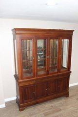 China Cabinet in Excellent condition! - Lights Dimming Hinge  FREE DELIVERY in Spring, Texas