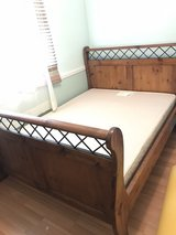 Queen Size Sleigh Bed in Fairfield, California