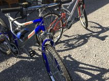 Road warrior bikes in Fort Campbell, Kentucky