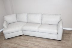 Light Gray Sofa with corner lounge piece in Kingwood, Texas