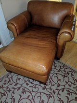 Leather chaise in Orland Park, Illinois