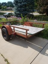 tilt bed trailer in Aurora, Illinois