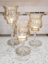 Hand Blown Glass Goblets / Candlesticks in Quantico, Virginia
